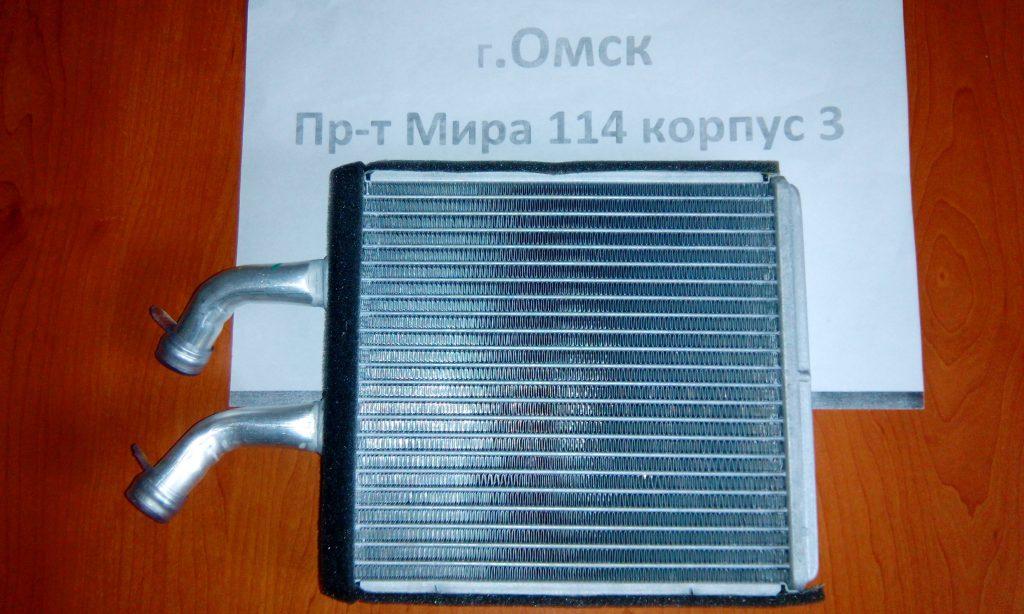 радиатор печки киа рио омск