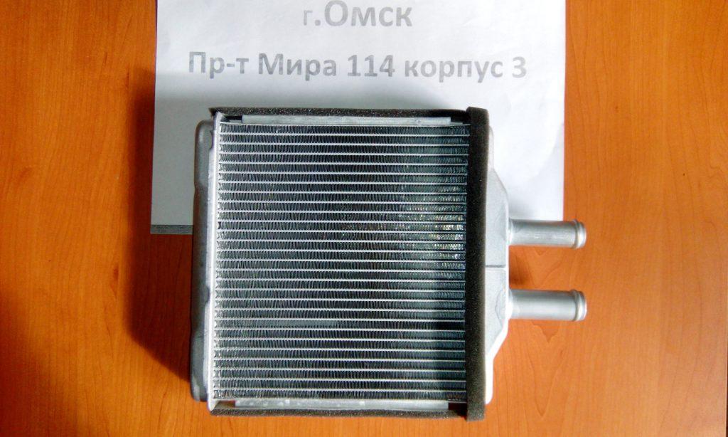 радиатор печки шевроле лачетти омск