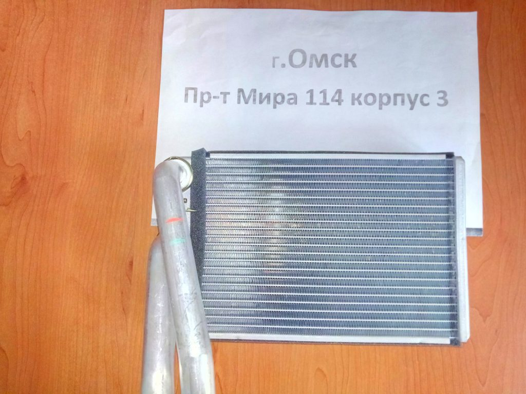 радиатор печки шевроле круз омск