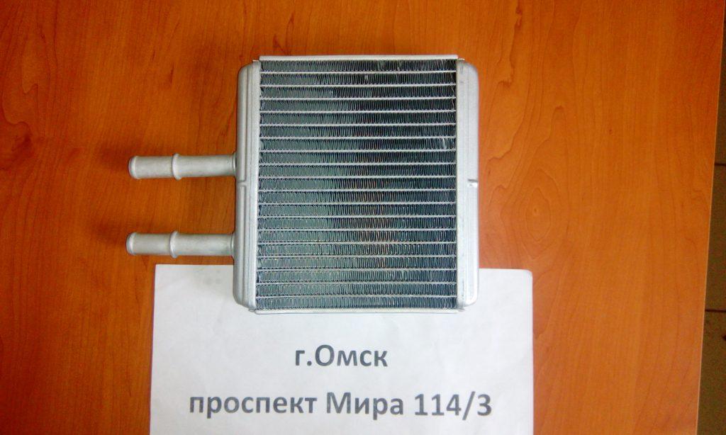 радиатор печки шевроле авео омск