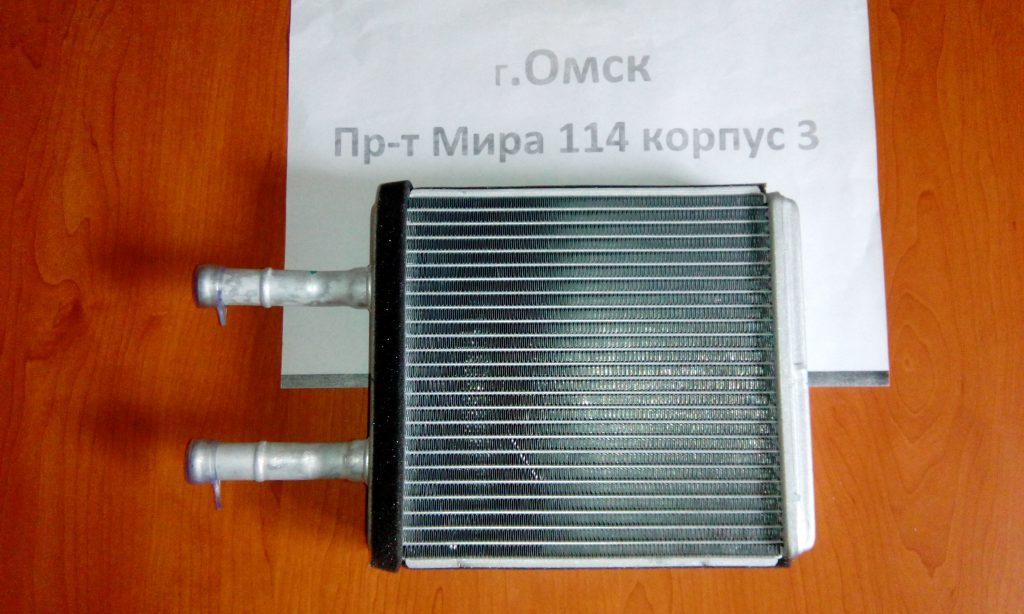 радиатор печки хендай акцент омск