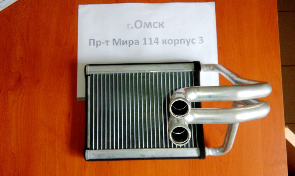 радиатор печки хундай туксон омск
